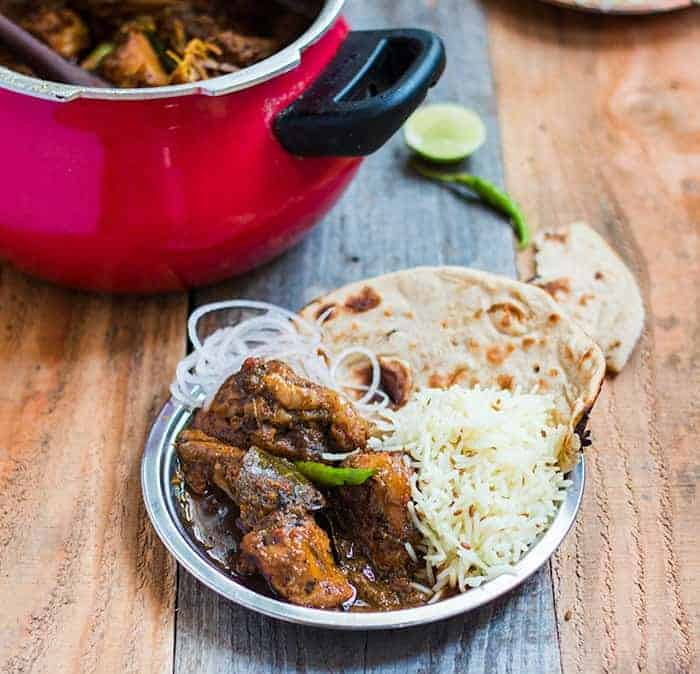 Dhaba Style Chicken Curry My Food Story