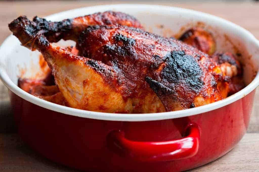 Indian Style Whole Masala Roast Chicken
