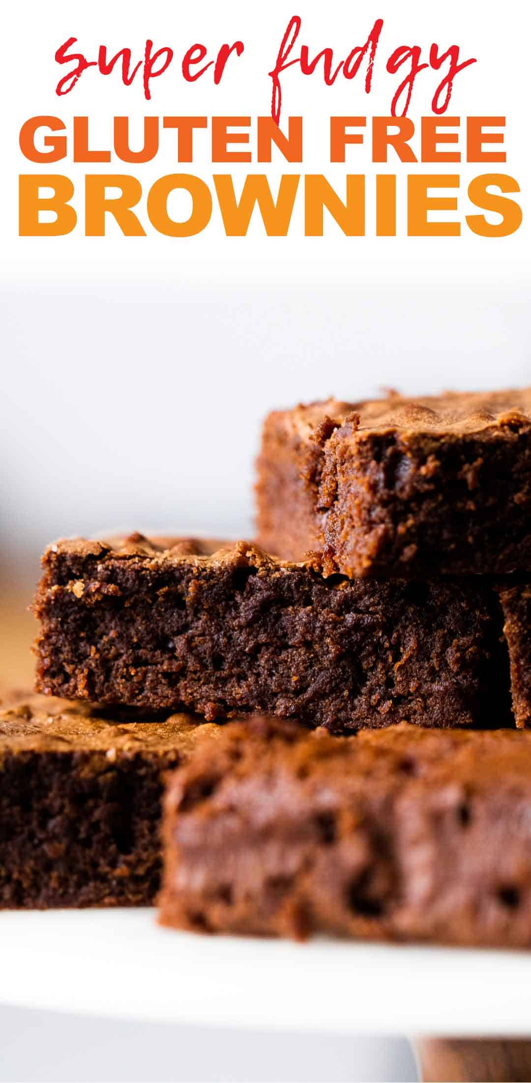 Chickpea Flour Brownies (Easy, Gluten Free, Fudgy)