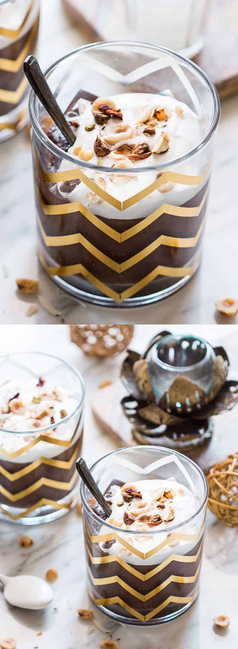 Festive Chocolate Rice Kheer (Pudding)