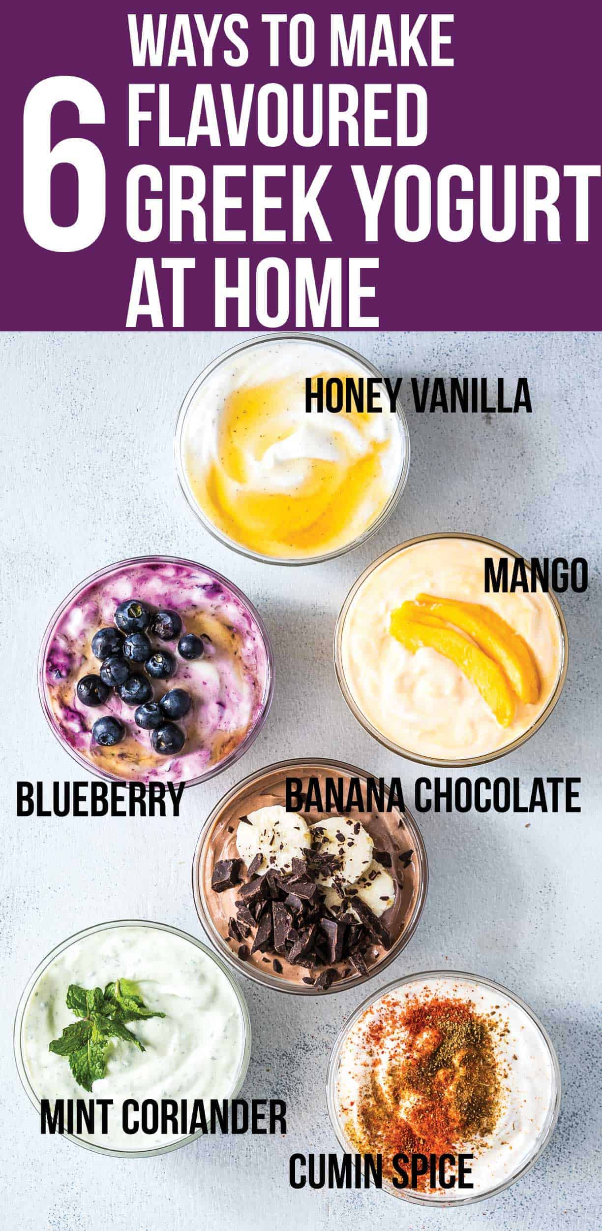6 homemade greek yogurt flavors clean eating gluten free and diy these six healthy greek yogurt flavors are homemade and will become your breakfast buddies pick forumfinder