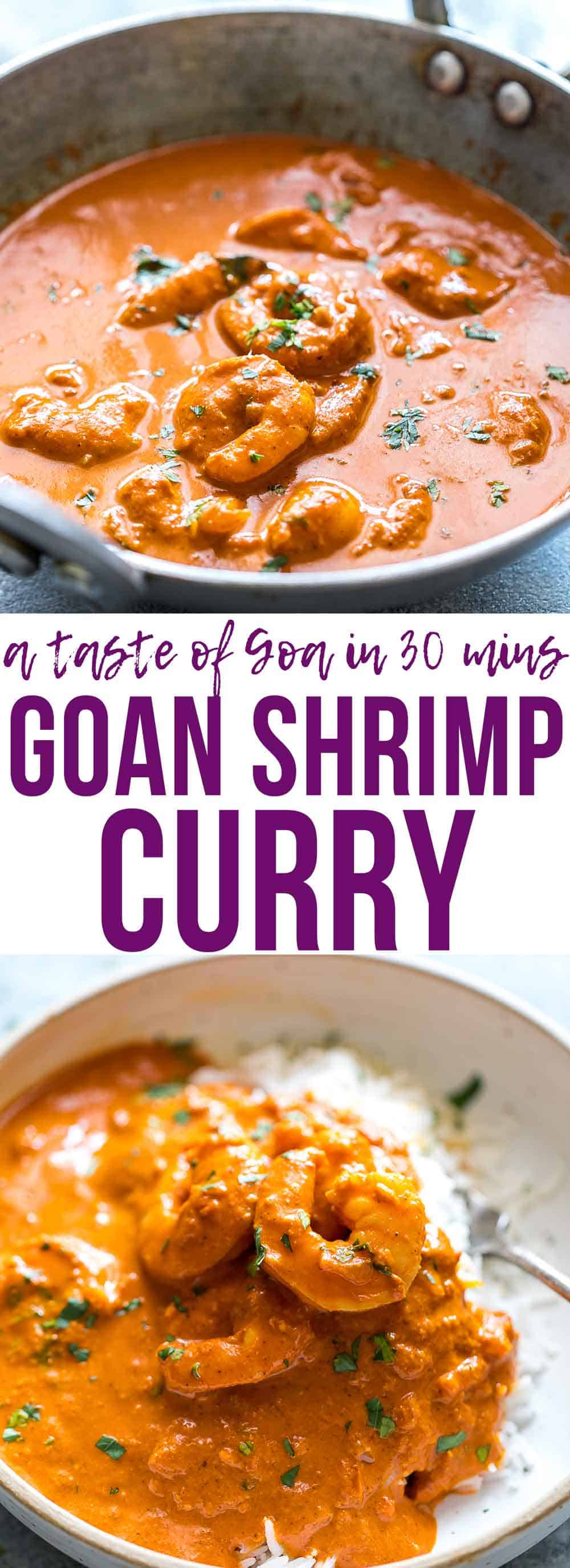 Goan Prawn Curry with Coconut