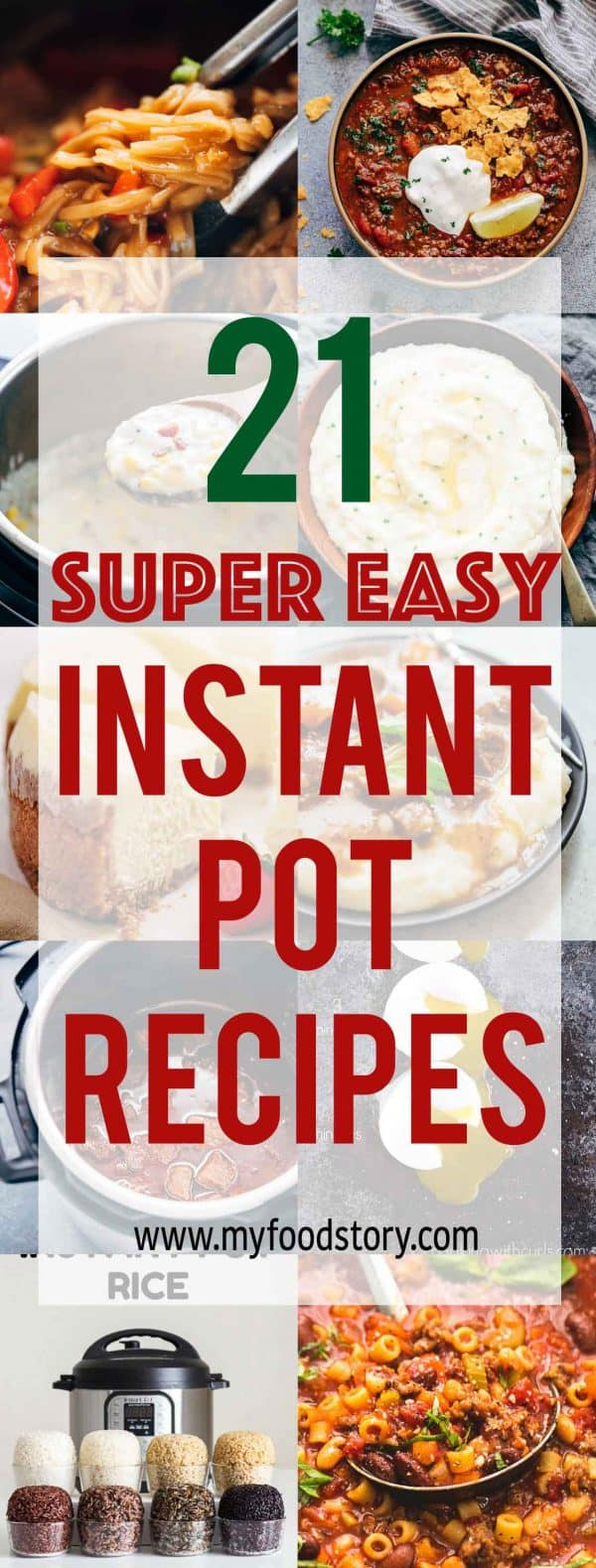 This collection of 21 Instant Pot Recipes for every Mealtime range from beginner to intermediate so if you are still wondering what to do with your new Instant Pot - here's your answer!