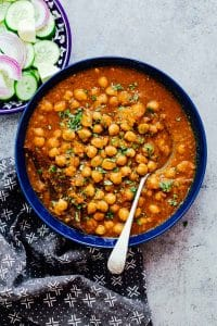 Pressure Cooker Chana Masala (Instant Pot and Stovetop recipes)
