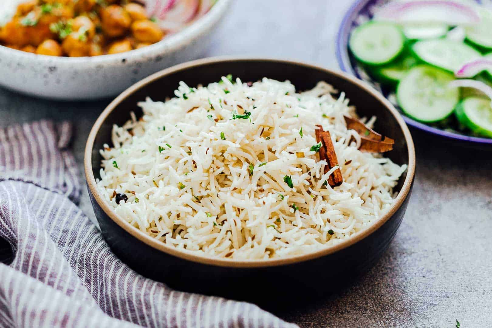 perfect jeera rice indian cumin rice ready in 10 minutes