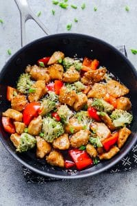 Easy Teriyaki Chicken with Broccoli