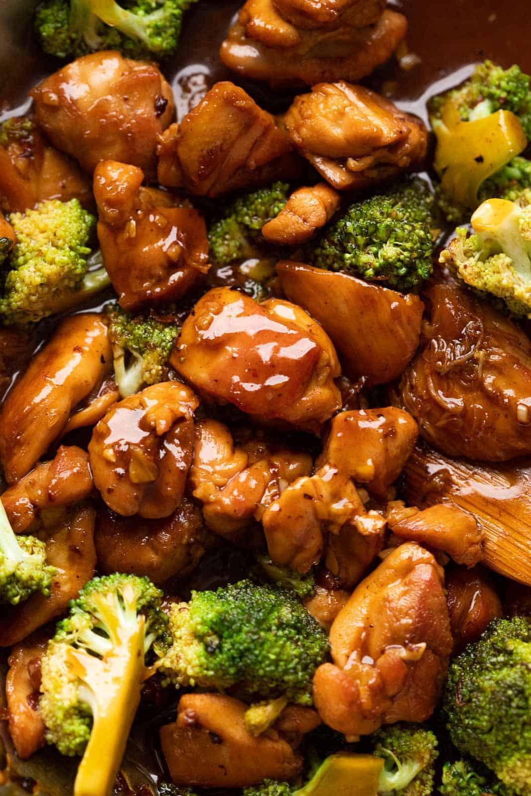 Easy Teriyaki Chicken with Broccoli