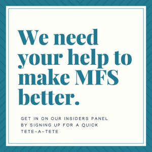 Help us make MFS Better with our Reader Survey