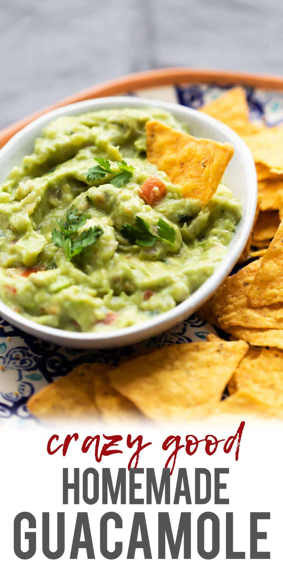 Crazy Good Homemade Guacamole