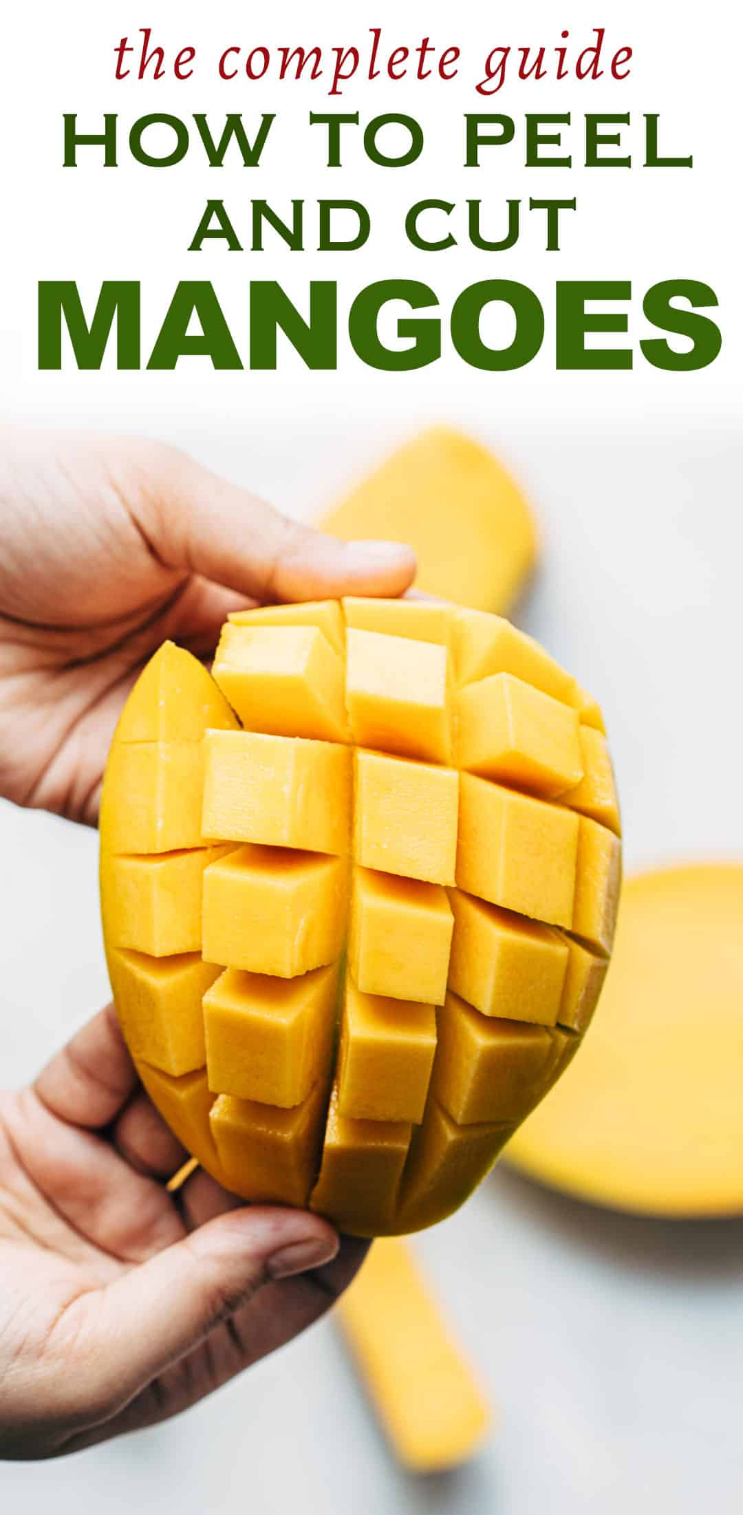 How to cut a Mango – Easy Step by Step Instructions