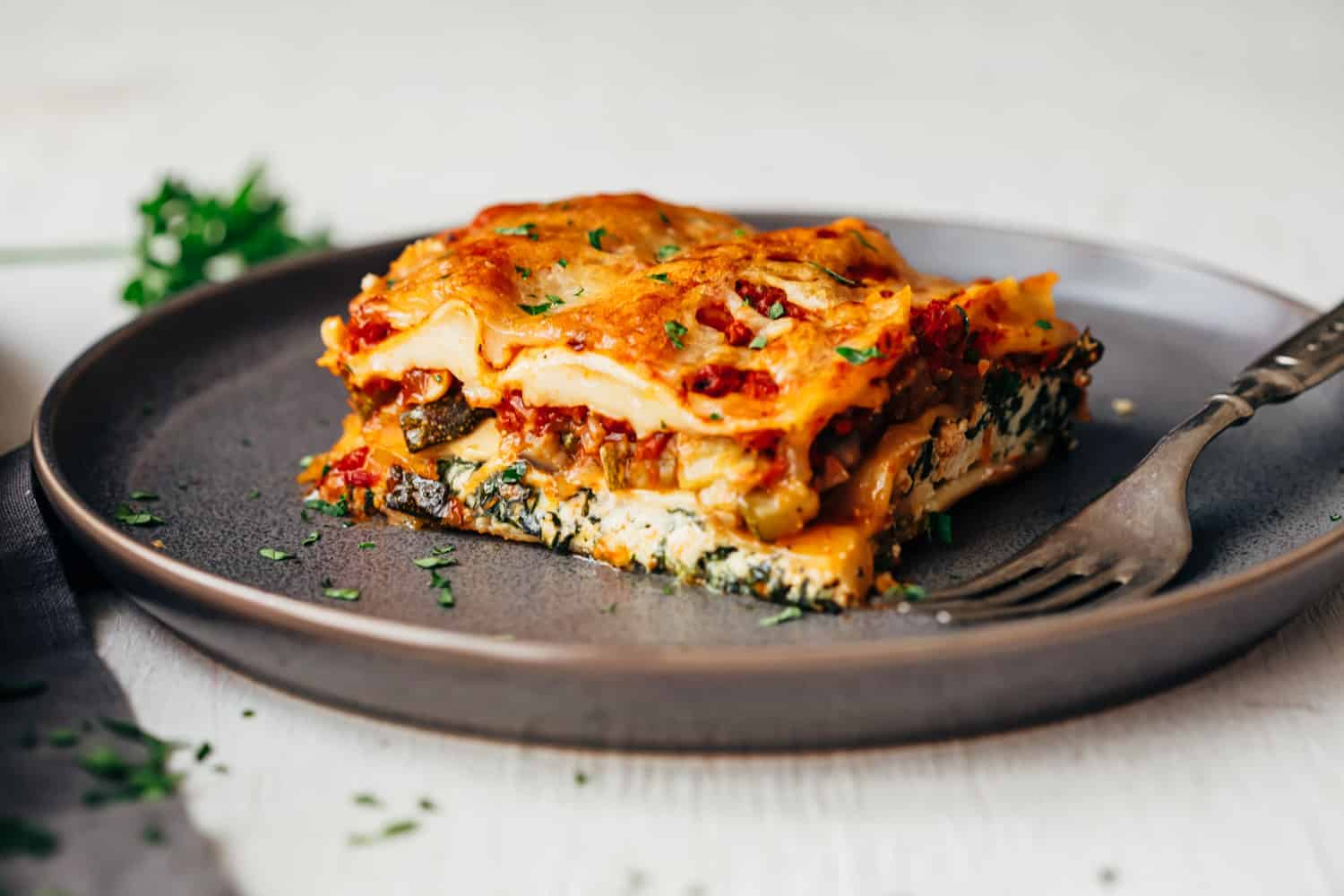 Easy Vegetarian Lasagna With Step By Step Directions My Food Story