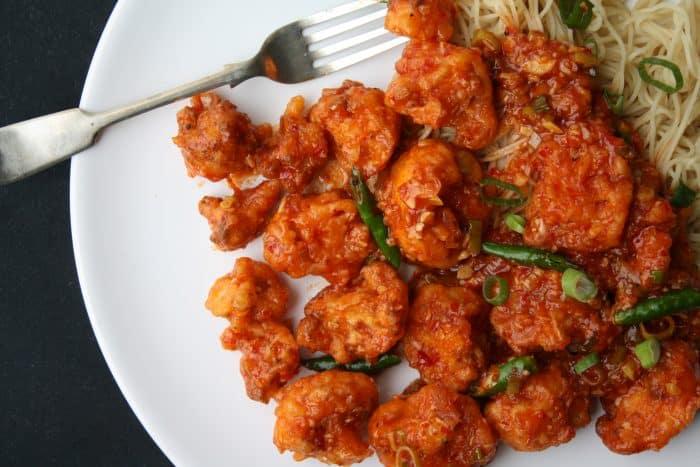 gobi manchurian - healthy cauliflower recipes