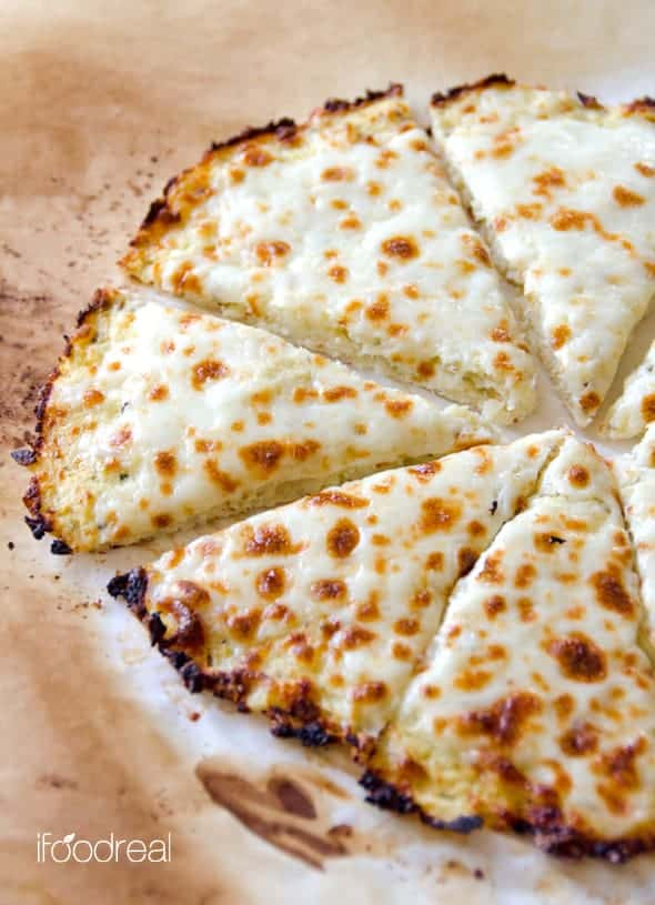 cauliflower pizza crust - healthy cauliflower recipes
