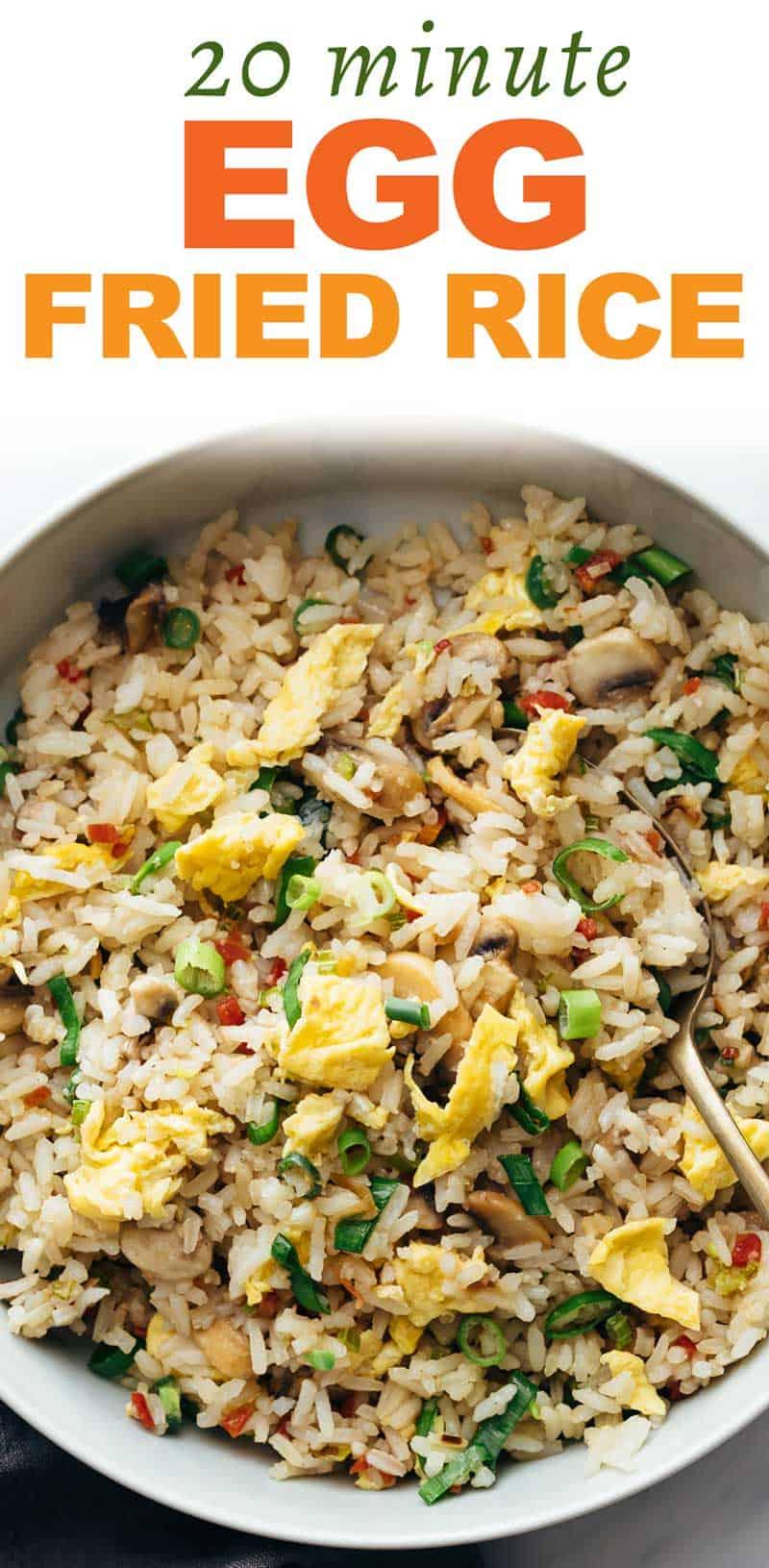 Egg Fried Rice – Same restaurant style taste!
