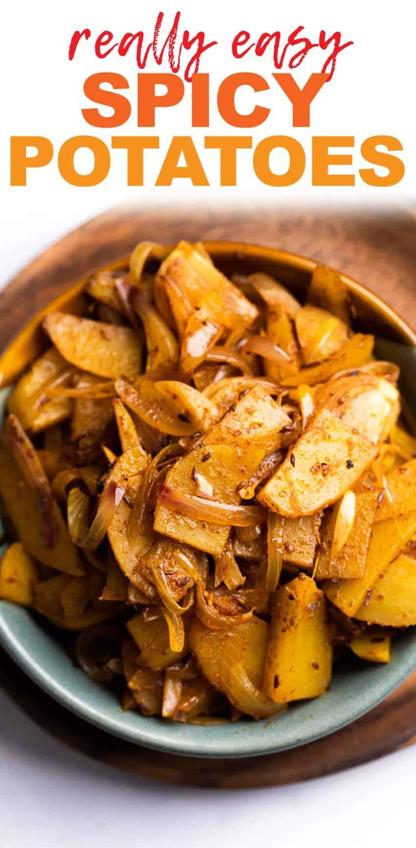 Quick Aloo Pyaz Sabzi (Potato Fry)