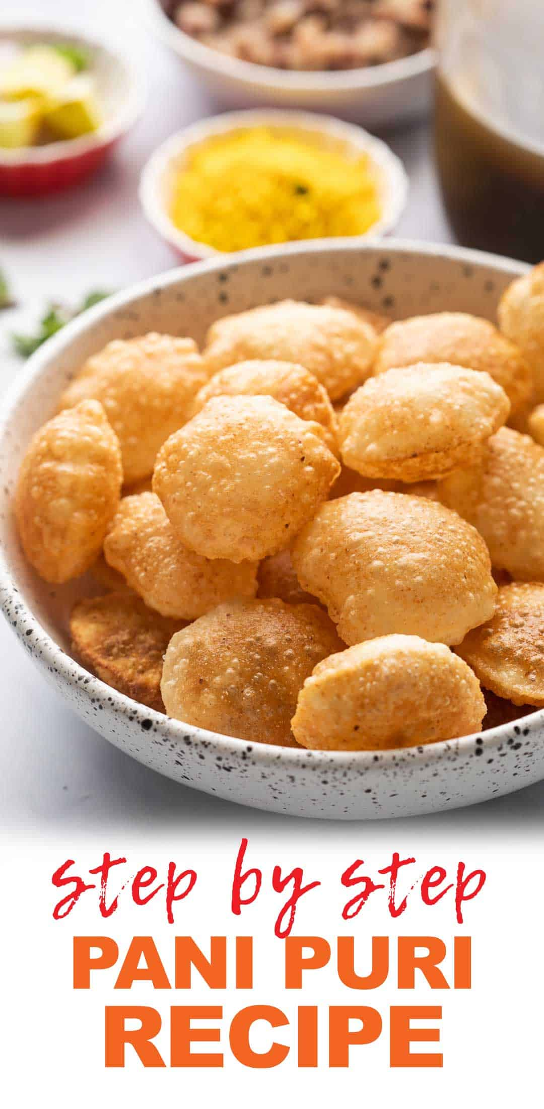 Easy Pani Puri (Golgappa/ Puchka) Recipe